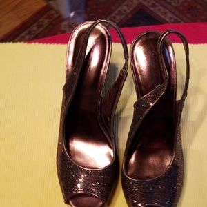 4 1/2 inch heals, sequence, open toe,